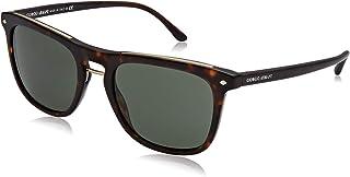 11e822a33e Armani GIORGIO 0AR8107 Gafas de sol, Matte Havana, 53 para Hombre
