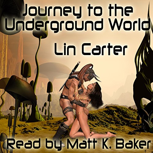Journey to the Underground World audiobook cover art