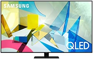 SAMSUNG 65-inch Class QLED Q80T Series - 4K UHD Direct Full Array 12X Quantum HDR 12X Smart TV with Alexa Built-in (QN65Q8...