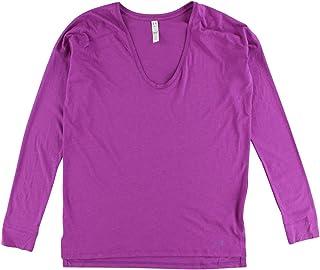 Under armour Women Favorite Collegiate Long Sleeve Shirt Purple S