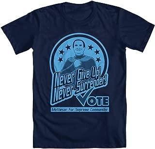 Never Give up, Never Surrender Men's T-Shirt