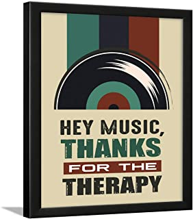 Chaka Chaundh – Music Quotes Wall frame – Framed Music Posters -– Music Quotes Frames - Music Quotes Framed Wall Paintings...