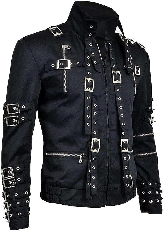 Award Men's Super King of Pop Cotton NEW before selling ☆ Concert Jacket Black
