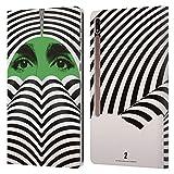 Head Case Designs Licenciado Oficialmente The Umbrella Academy Klaus Season 2 Poster Carcasa de Cuero Tipo Libro Compatible con Galaxy Tab S7+ / Tab S7 Plus 5G