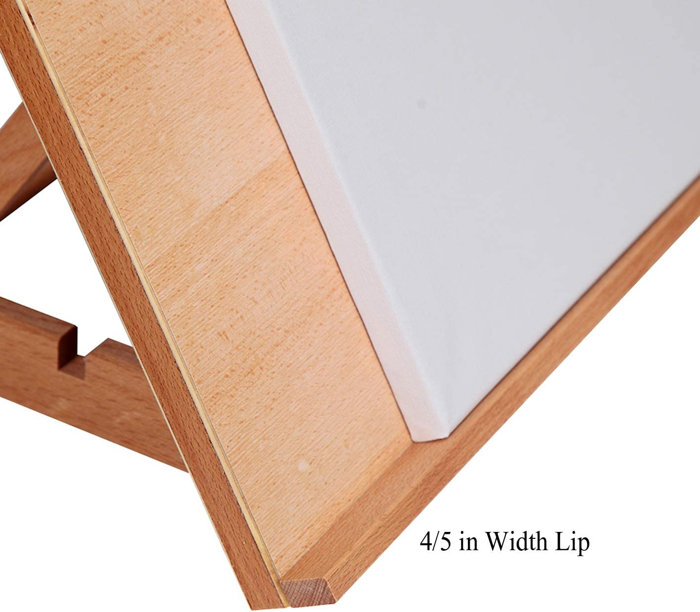 17 1//10 Inches by 12 1//2 Inches Falling in Art 4-Position Wood Drafting Table Easel Drawing and Sketching Board