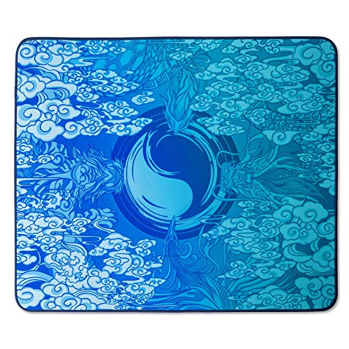 Esports Tiger Grandmaster Special Edition Qin Gaming Mouse Pad - Stitched Edges, SBR Base , Large (480 x 400 x 4mm)
