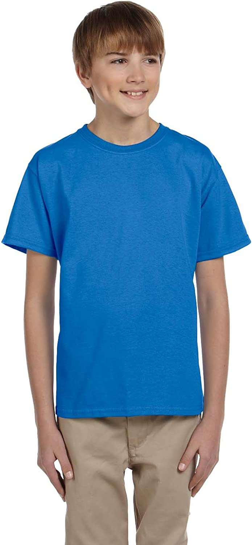 Product of Brand Gildan Youth Ultra Cotton 6 oz T-Shirt - IRIS - XS - (Instant Savings of 5% & More)