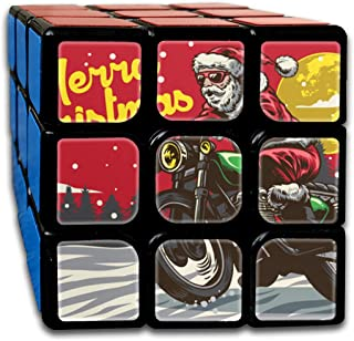 3x3 Rubik Cube Santa Ride Motorcycle Deliver Present Smooth Magic Cube Sequential Puzzle
