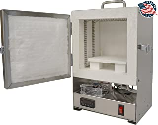 Rapidfire Pro Electric Kiln W/digital Controller for PMC Jewelry Making, Beadmaking