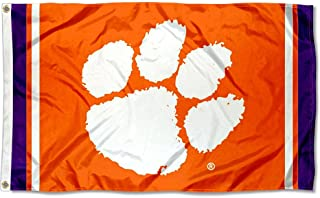 College Flags and Banners Co. Clemson Tigers Jersey Stripes Flag