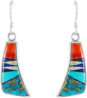 Turquoise Earrings Genuine Gemstones (CHOOSE STYLE)