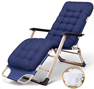 Allyine Reclining Zero Gravity Chair, Oversized Extra Wide Reclining Lounger with Padded, Adjustable Sun Lounge Chair for Gar
