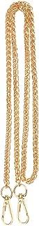 Prettyia Crossbody Bag Shoulder Bag Handle Replacement Chain Strap 120cm Gold