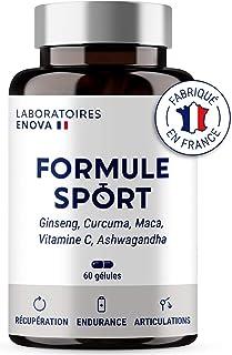 FORMULE SPORT • Puissance Endurance Articulations Récupération • Ginseng Curcuma Maca Vitamine C Ashwagandha • Complément ...