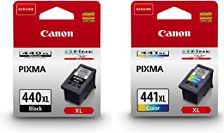 CANON 440XL BLACK & 441XL COLOR INK CARTRIDGE SET