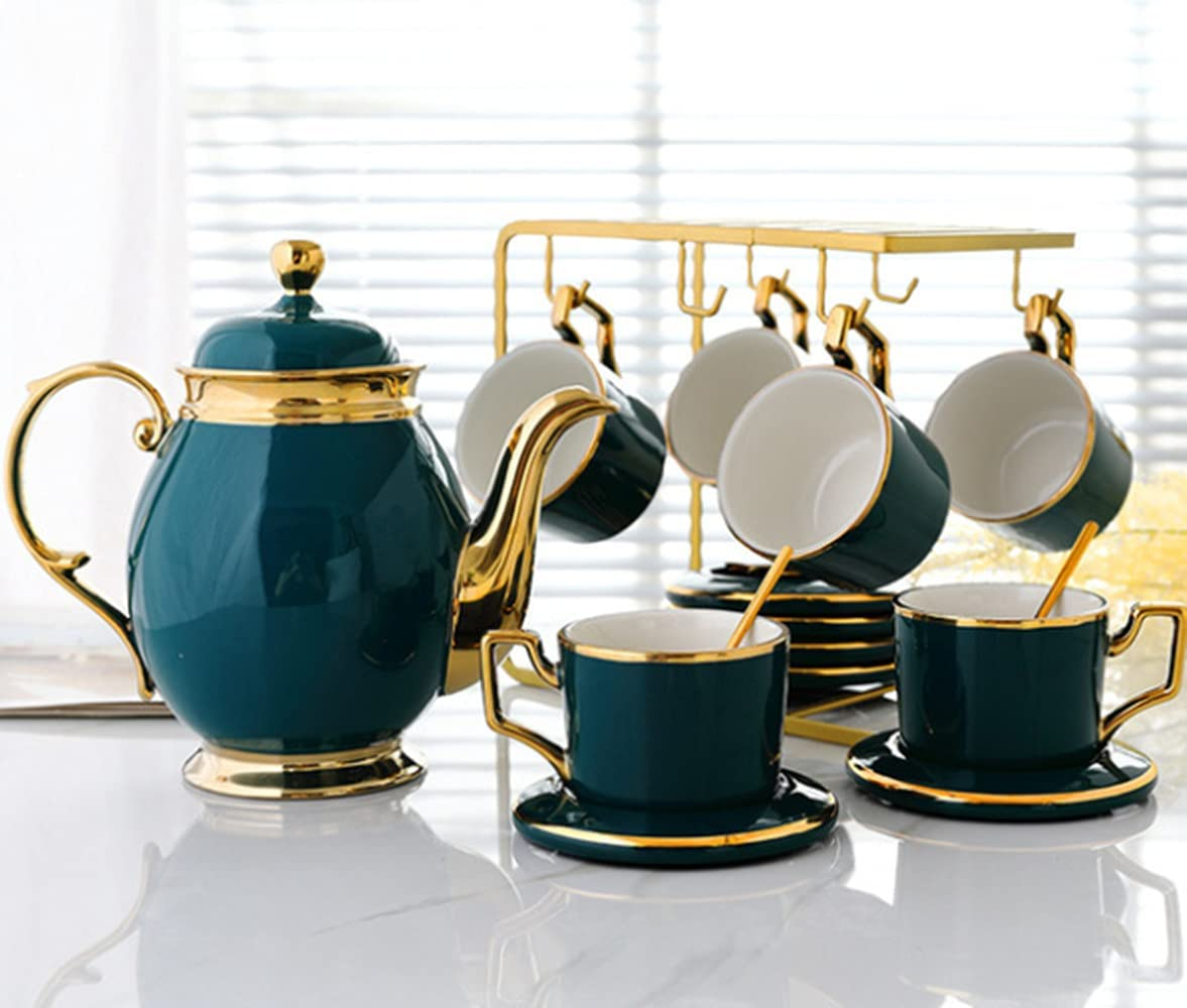 Luxury Max 47% OFF painted Phnom Penh Coffee Cup Set Hous Super-cheap Ceramic and Saucer