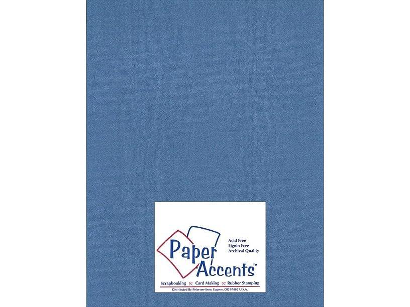 Accent Design Paper Accents SapphireSparkle Glimmer 8.5x11 Sapphire Sparkle