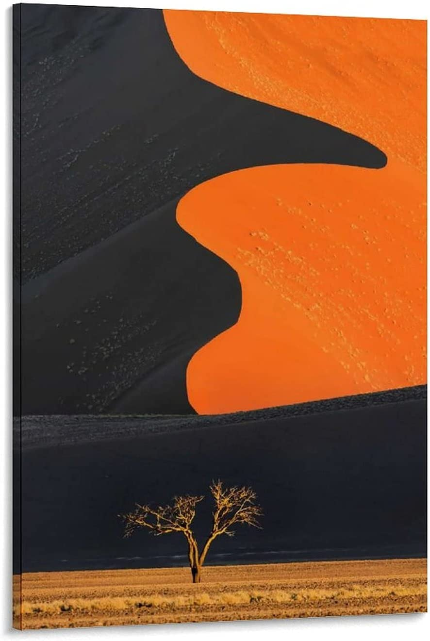 Picnelt Sand Dune at Sunset Wal Namibia Miami Mall Decoration Canvas Poster New mail order