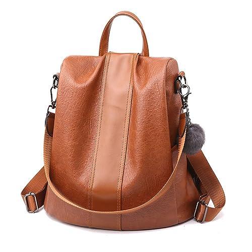 Herald Fashion Women Anti-theft Backpack Waterproof Rucksack Shoulder School Bag