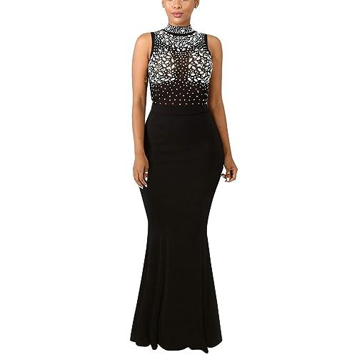 78a5ac5c8a29 Women s Mermaid Semi Formal Dresses - Head Turner Elegant Sparkly Long  Evening Ball Gowns