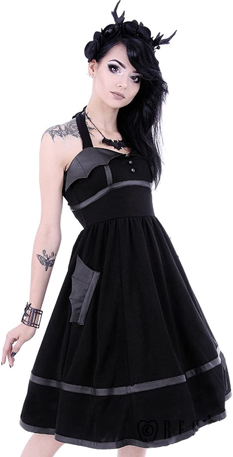 Restyle  BAT DRESS  Women's Halterneck Dress Party, Fashion
