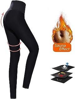 Leggins Deportivos Mujer, Leggings Mujer Fitness Faja Reductora Adelgazante para Deporte, Yoga, Fitness, Running