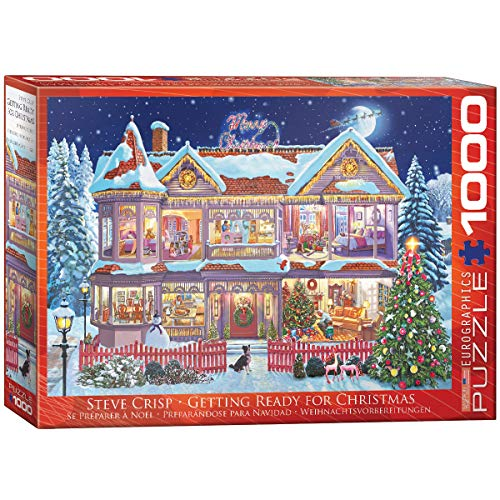 EuroGraphics 6000-0973 Puzzle Getting Ready for Christmas, 1000 Teile