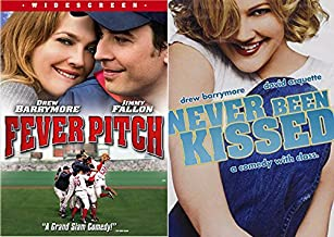 Drew Barrymore ROM COM MADNESS Movie Bundle - Never Been Kissed & Fever Pitch 2-DVD Set (Jimmy Fallon)