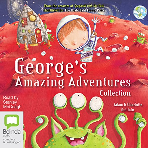 George's Amazing Adventures Collection audiobook cover art