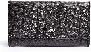 GUESS Factory Women's Ware Patent Logo Slim Wallet