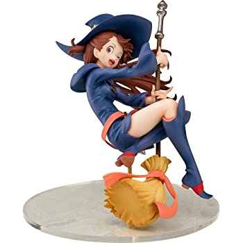 Amazon Com Chara Ani Little Witch Academia Atsuko Kagari 1 7 Scale Pvc Figure Multicolor Toys Games