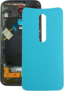 Mobile Phones Communication Accessories Battery Back Cover for Motorola Moto X (Green) (Color : Blue)