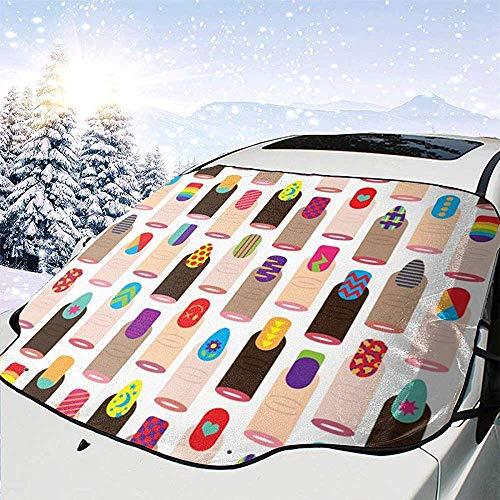 Dem Boswell Japanische Mode nagellack Auto windschutzscheibe schneedecke, EIS, Frost, uv voller...