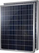 2 Pieces of HQST 100 Watt 12 Volt Polycrystalline Solar Panel