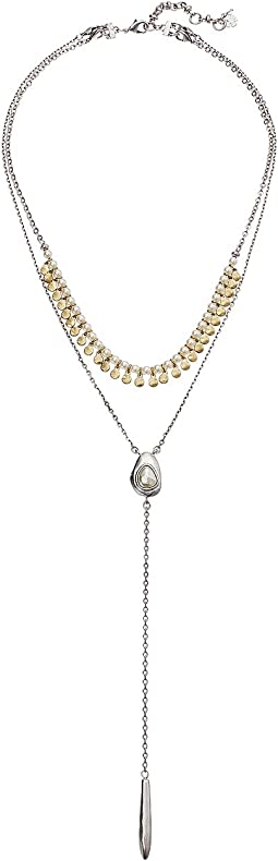 Lucky Brand - Pearl Y Necklace