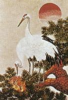 東京文化刺繍キット No235 日の出鶴(6号)(Bunka Embroidery/Kits No.235)
