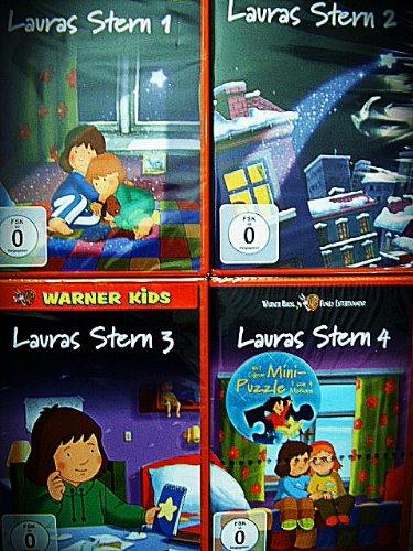 LAURAS STERN Teil 1 2 3 4 - COMPLETE COLLECTION 35 Gute Nacht Geschichten 4 DVD Edition
