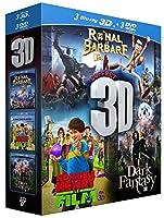 3D - Coffret 3 films : Ronal le Barbare + Horrible Henry - Le Film + Dark Fantasy [Blu-ray 3D]