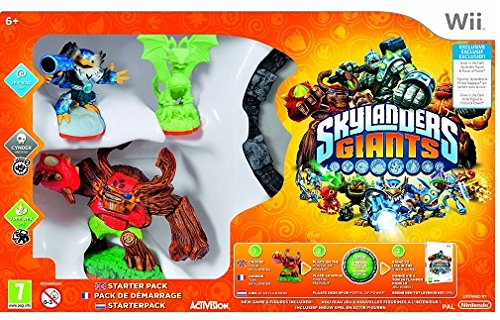 Skylanders Giants - Glow In The Dark Wii Starter Pack