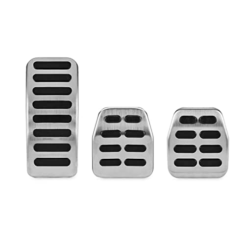 Kinglooyuan LOOYUAN Sport Metal Pedals Pads Set for 1998-2004 VW Golf Jetta MK4 Bora