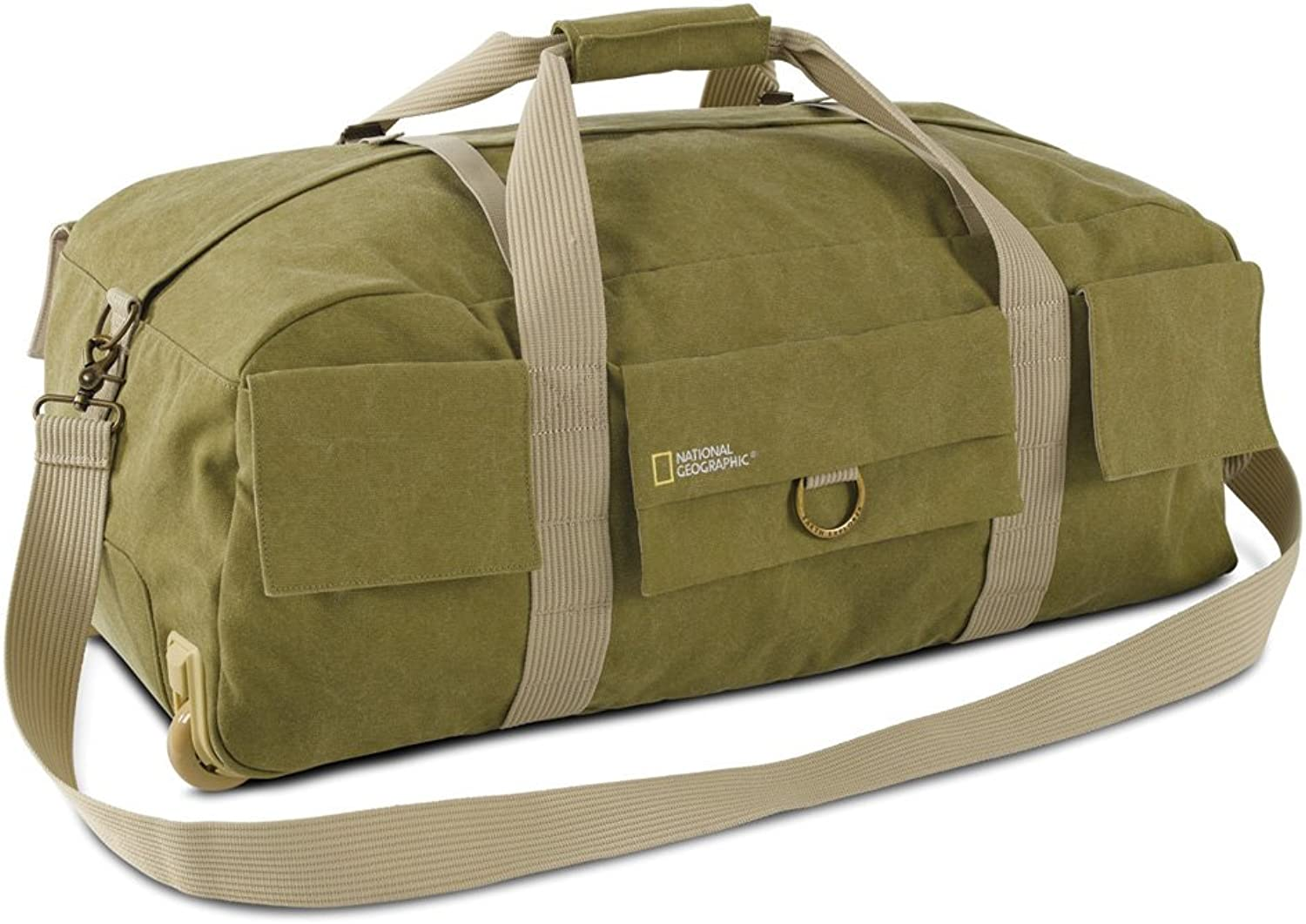 National Geographic NG 6130 Earth Explorer Duffel with wheels