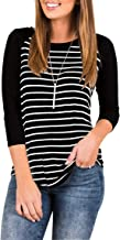 Best 3/4 sleeve ladies t shirts Reviews