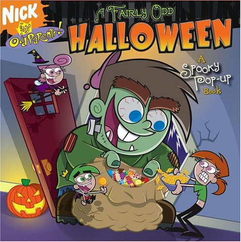 A Fairly Odd Halloween: A Spooky Pop-up Book (Fairly OddParents)