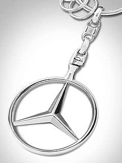Mercedes-Benz Brussels Logo KeyRing