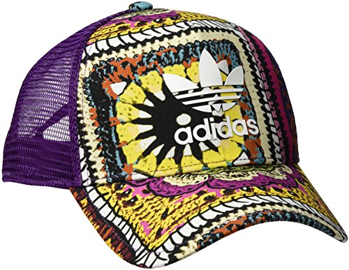 adidas Damen Crochita Mütze, Mid Grape/Multicolor, OSFW