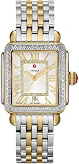 Deco Madison One Hundred Fifty Five Diamonds Silver Dial Two Tone Women's Watch MWW06T000144