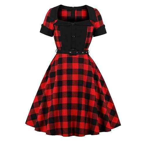 Plus Size Rockabilly Women\'s Clothing: Amazon.com