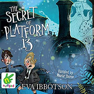 The Secret of Platform 13 audiobook cover art