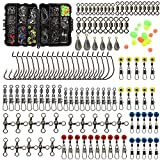 Best Fishing Tackles - Croch 160pcs/box Fishing Accessories kit with Tackle Box,Including Review