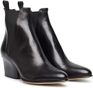 Botas Mujeres POMME D'OR 6965B Glove Nero Cuero Negro